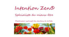 Preview of intention-zen.fr